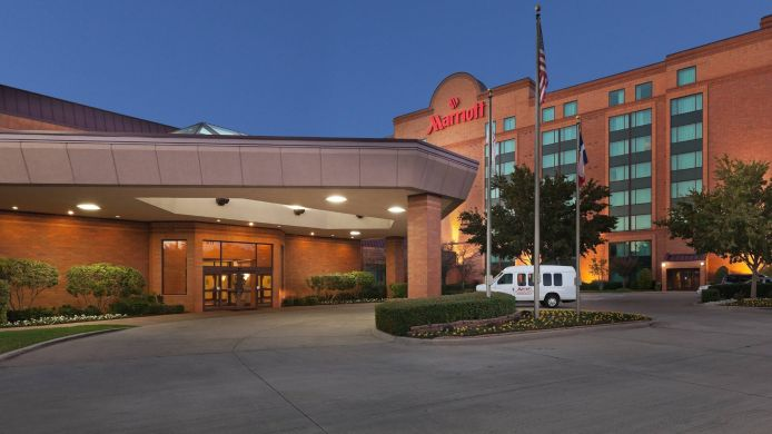 Buitenaanzicht DFW Airport Marriott South