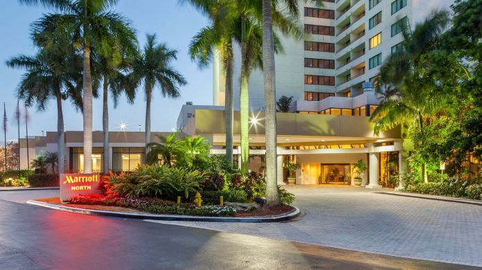 Exterior view Fort Lauderdale Marriott North