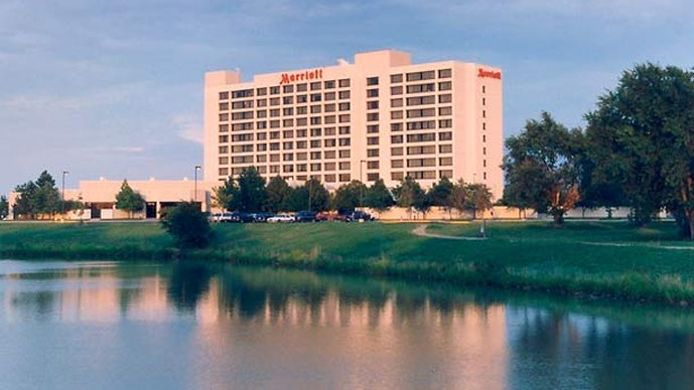 Buitenaanzicht Wichita Marriott