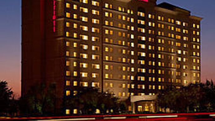 Exterior view Dallas Marriott Suites Medical/Market Center