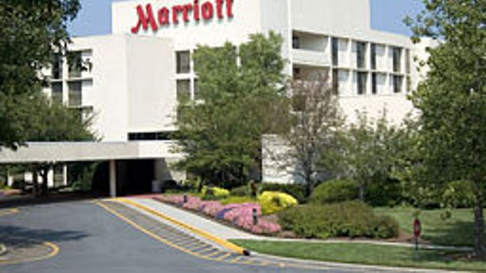 Exterior view Greensboro-High Point Marriott Airport