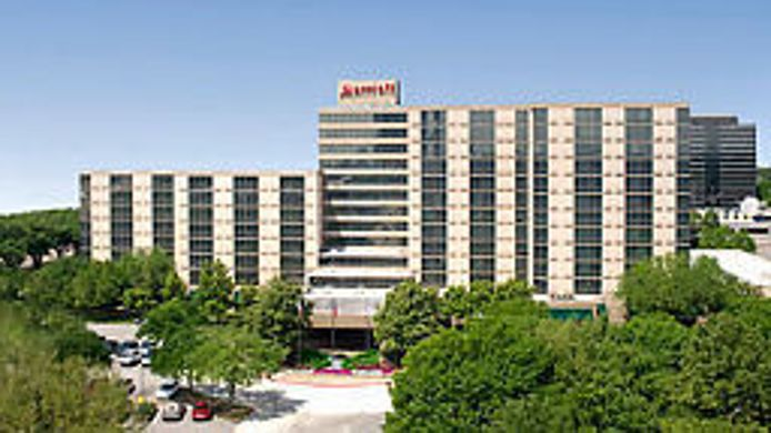 Exterior view Houston Marriott North