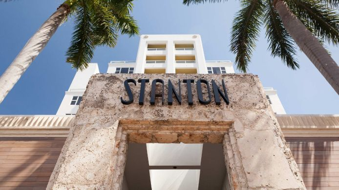 Exterior view Marriott Stanton South Beach