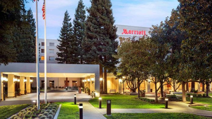 Buitenaanzicht San Ramon Marriott