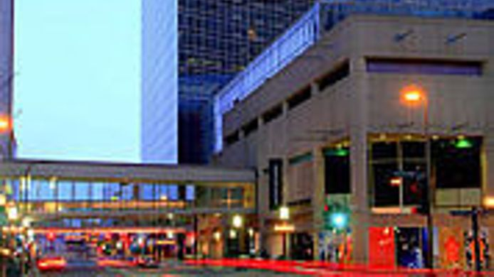 Buitenaanzicht Minneapolis Marriott City Center