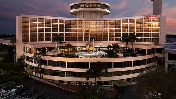 Exterior view Tampa Airport Marriott