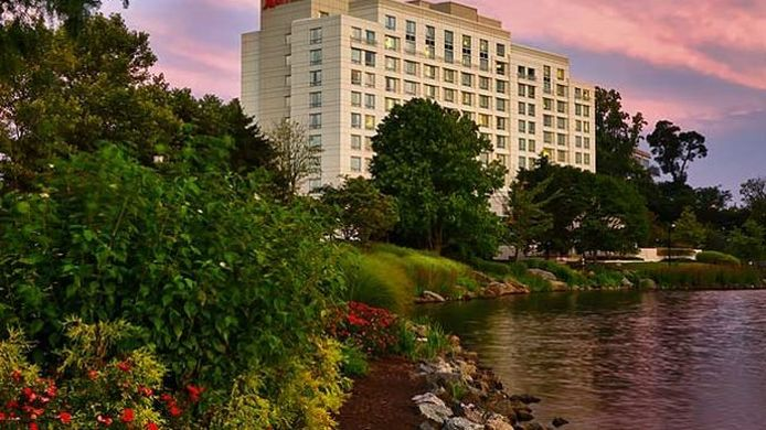 Exterior view Gaithersburg Marriott Washingtonian Center