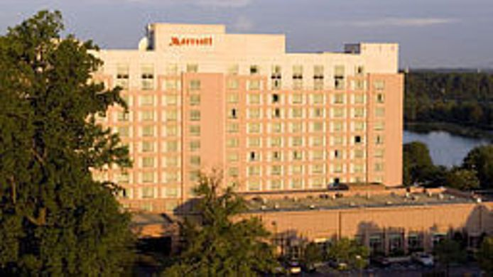 Buitenaanzicht Gaithersburg Marriott Washingtonian Center
