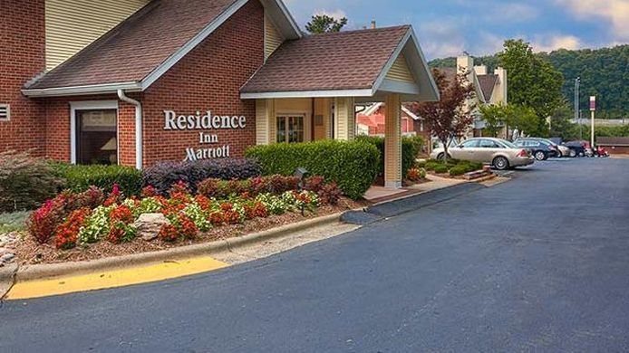 Exterior view Residence Inn Charlotte South at I-77/Tyvola Road