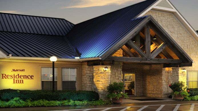 Exterior view Residence Inn Fort Worth Fossil Creek