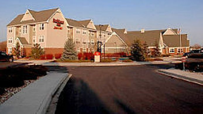Exterior view Residence Inn Fort Collins