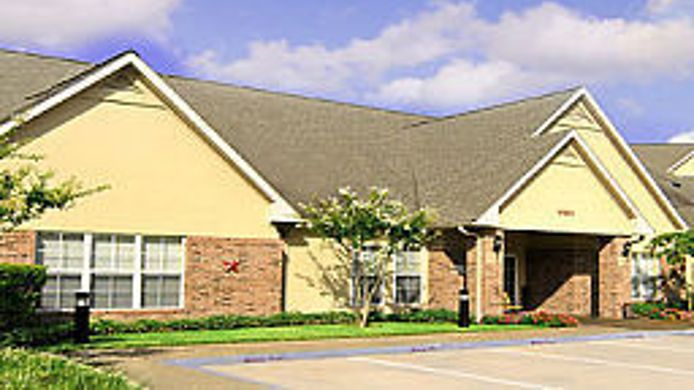 Exterior view Residence Inn Houston Westchase on Westheimer