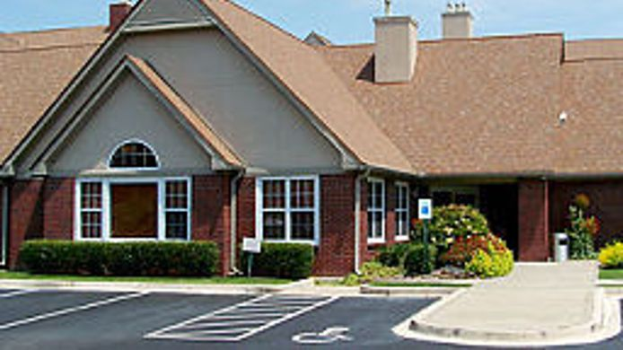 Exterior view Residence Inn Memphis Germantown