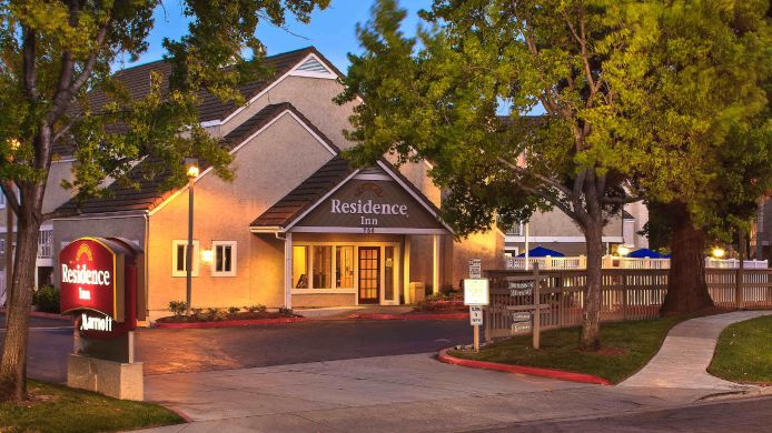 Exterior view Residence Inn Sunnyvale Silicon Valley I