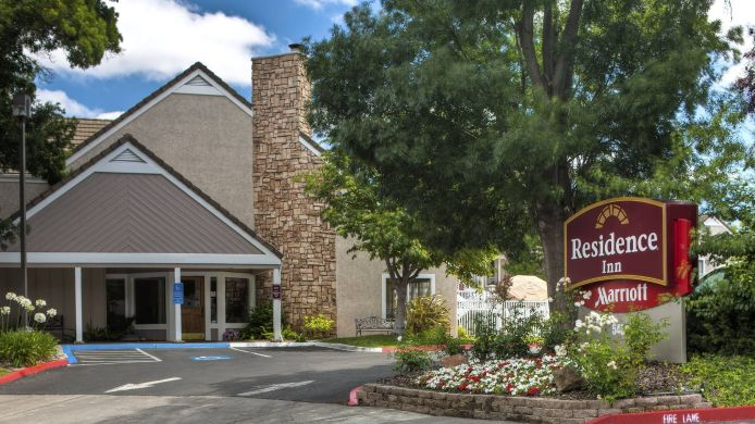 Exterior view Residence Inn Fremont Silicon Valley