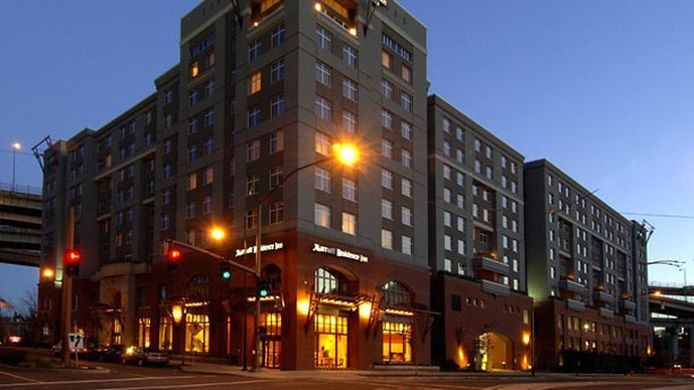 Buitenaanzicht Residence Inn Portland Downtown/RiverPlace