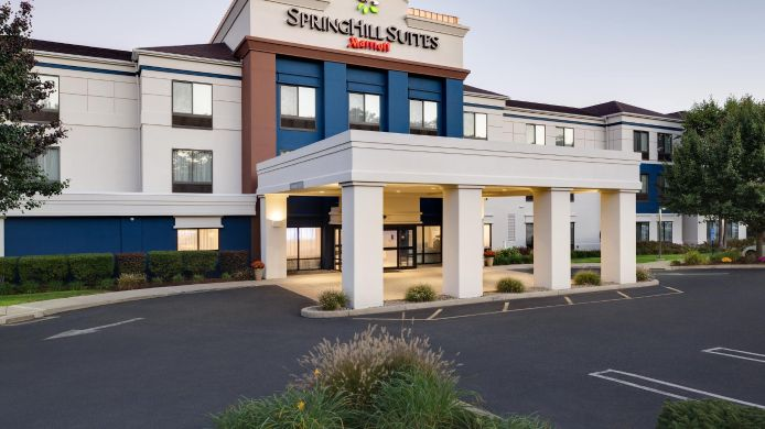 Exterior view SpringHill Suites Milford