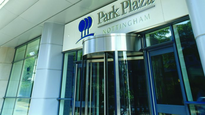Exterior view Park Plaza Nottingham