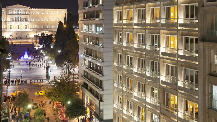Exterior view Electra Hotel Athens