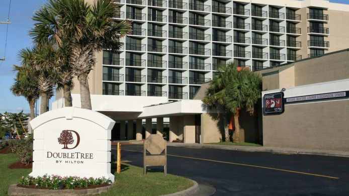 Exterior view DoubleTree by Hilton Atlantic Beach Oceanfront