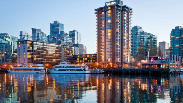 Exterior view Vancouver The Westin Bayshore