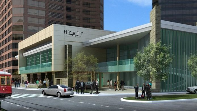 Exterior view Hyatt Regency New Orleans
