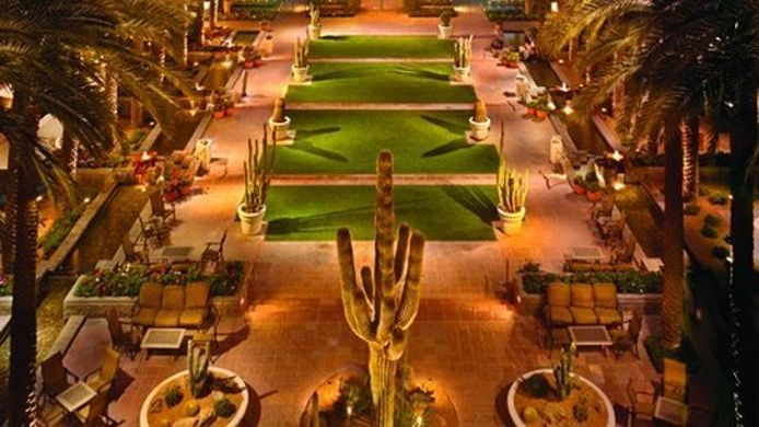 Buitenaanzicht Hyatt Regency Scottsdale Resort and Spa