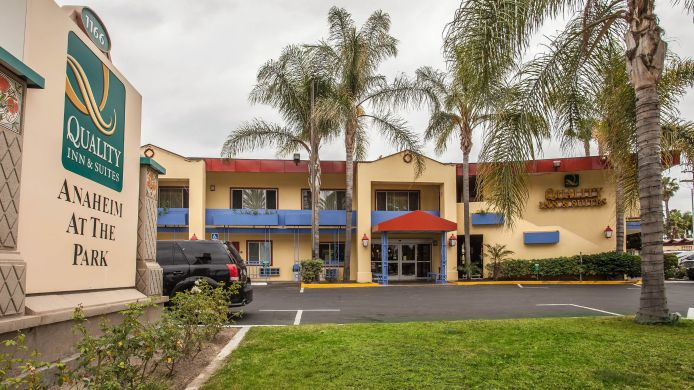 Buitenaanzicht Quality Inn & Suites Anaheim at the Park