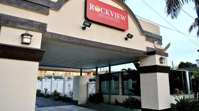 Exterior view ROCKVIEW INN AND SUITES