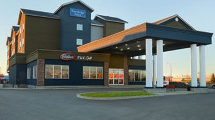 Exterior view WEYBURN TRAVELODGE