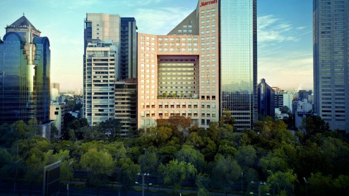 Buitenaanzicht JW Marriott Hotel Mexico City