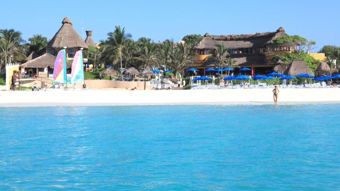 Exterior view The Reef Playacar All Inclusive Beach Resort