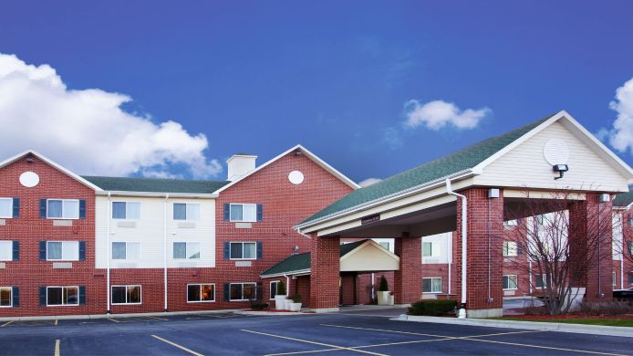 Buitenaanzicht Holiday Inn Express CHICAGO NW-VERNON HILLS