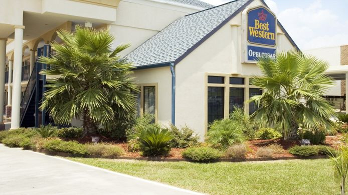Exterior view Best Western of Opelousas