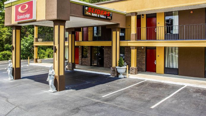 Exterior view Econo Lodge Aiken
