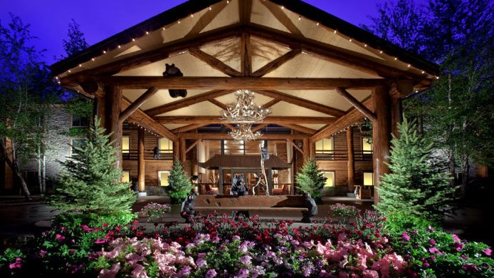 Exterior view THE LODGE AT JACKSON HOLE