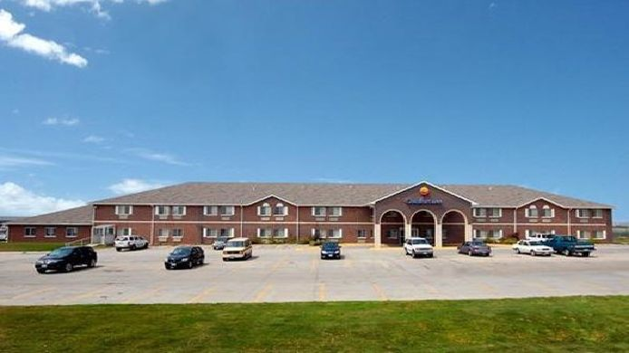 Buitenaanzicht Econo Lodge Inn & Suites West