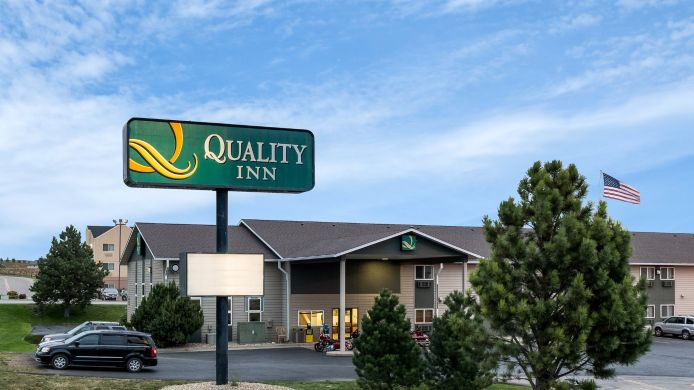 Exterior view Quality Inn Spearfish