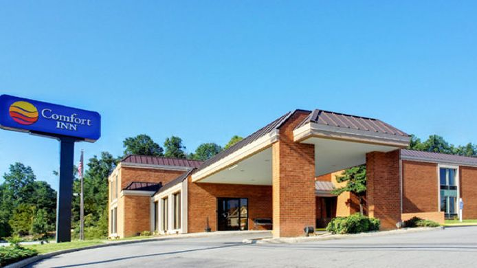 Buitenaanzicht Comfort Inn Troutville - Roanoke North