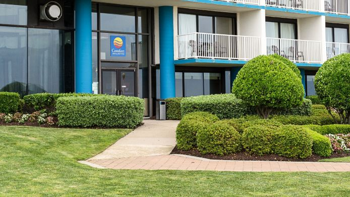 Buitenaanzicht Comfort Inn & Suites Virginia Beach - Oceanfront