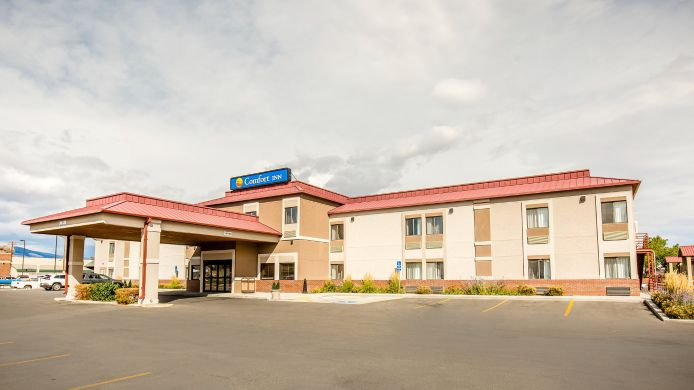 Exterior view Comfort Inn at Buffalo Bill Village Resort