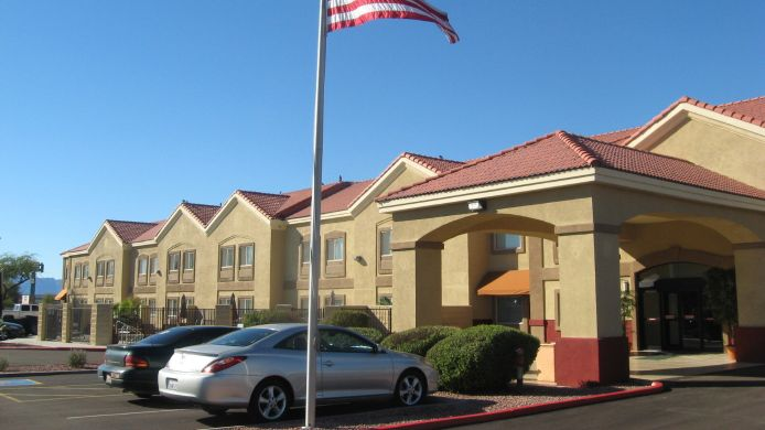 Exterior view BEST WESTERN TOLLESON HOTEL