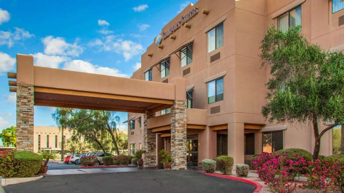 Exterior view Comfort Suites Old Town Scottsdale