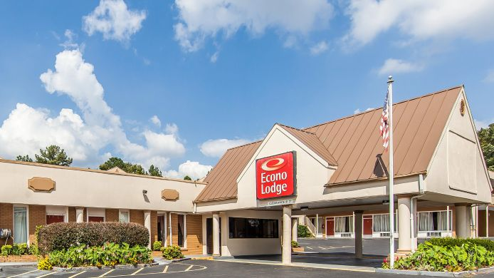 Exterior view Econo Lodge Cleveland
