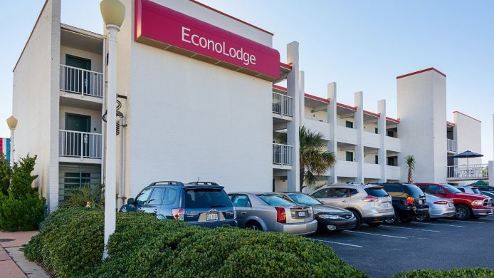Exterior view Econo Lodge Virginia Beach - On the Ocean