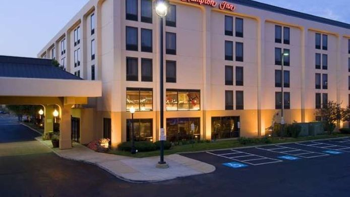 Buitenaanzicht Hampton Inn Chicago-Midway Airport