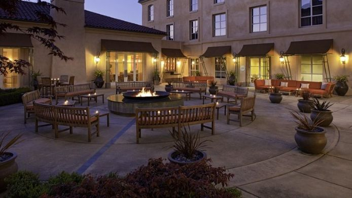 Exterior view Hyatt Vineyard Creek Hotel And Spa