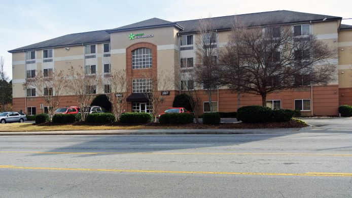 Exterior view EXTENDED STAY AMERICA BUCKHEAD