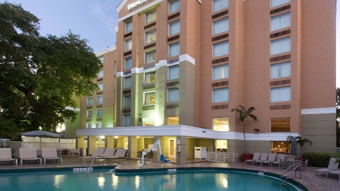 Exterior view SpringHill Suites Fort Lauderdale Airport & Cruise Port