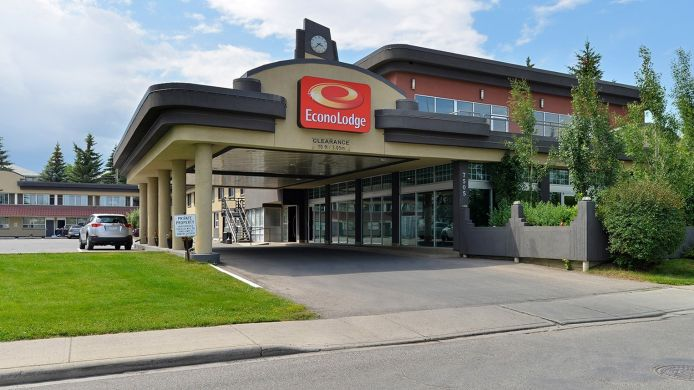 Buitenaanzicht Econo Lodge South
